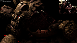 Springtrap Hidden Screen Recreation 3 by TF541Productions