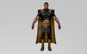 Hyperion 3DModel (Marvel Future Fight) by Pitermaksimoff