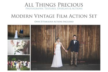 MODERN VINTAGE FILM ACTIONS by AllThingsPrecious