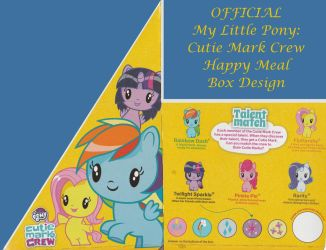 OFFICIAL My Little Pony: Cutie Mark Crew Boxart by AxelDK64