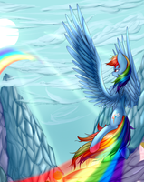 Rainbow Dash by midfire