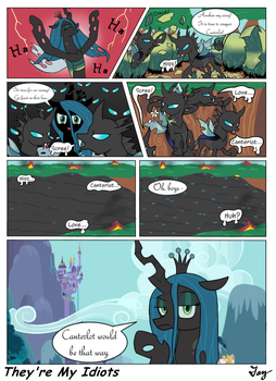 MLP:FIM - They're My Idiots by MultiTAZker