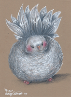 Petal the Pigeon by Ducks-with-Crayons