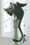Trico from the Last Guardian by SeverineDumagny