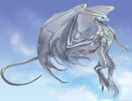 Ornaryz Silverwing by The-SixthLeafClover