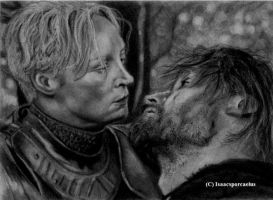 Brienne and Jaime by GalleyArts
