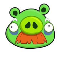 Angry Bird - Old Pig by life-as-a-coder