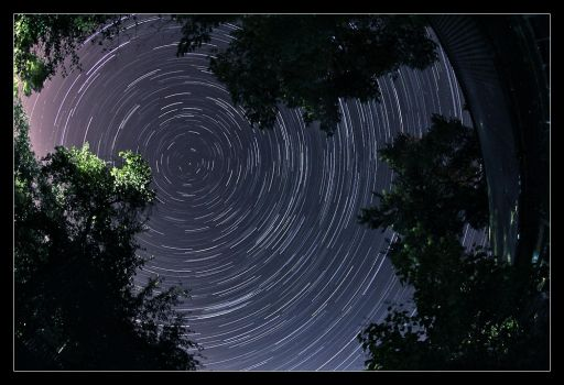 Star trails by red-d-evil