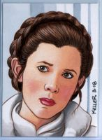 Princess Leia ACEO by Rathskeller7