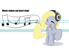 Music makes my heart sing! by Matackable