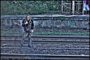 waiting for the train by wandi-Camarell