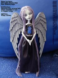 Lacrimosa, my weeping angel by PuppitProductions