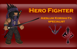Hero Fighter - Specialist Assassin by RalphGressine