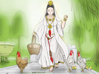 Guan Yin - Hatching walker by VachalenXEON