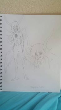 Fan Art Doodle: Ulquiorra Cipher by crazyanimekid777