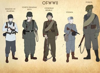 OFWWII Concepts by goeliath