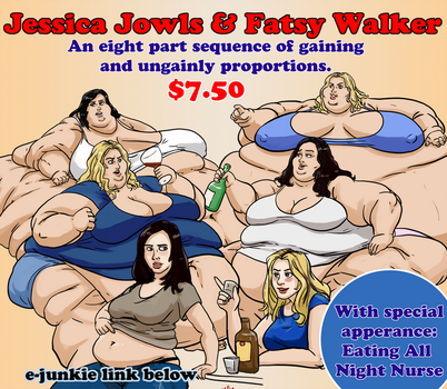 Jessica Jowls and Fatsy Walker by Idle-Minded