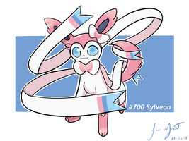 #700 Sylveon by LuisMGalindo