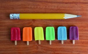 polymer clay popsicles I by FatalPotato