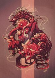 Chinese Zodiac: Fire Monkey by NICEjuanpaolo