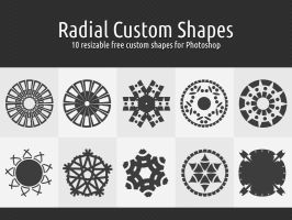 Radial Custom Shapes by xara24