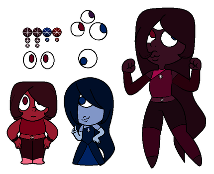 Star Garnet and Her Defusion by EliteUnicorns
