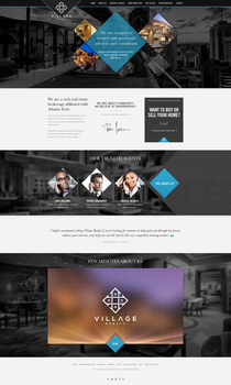 Real estate agents elegant web design - for sale by robertpilc
