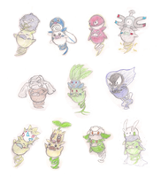 Spoink Pearl Replacement Variations