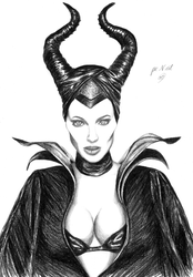Sexy Maleficent by pencilir