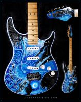 Blue Moon Strat by aaronsdesign