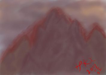 Bloody Mountain by Apkx
