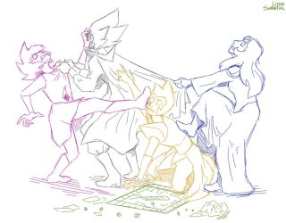 101 Ways Pink Diamond Could've Been Shattered: 040 by LittleSnaketail