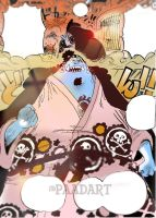 One Piece Chapter 851+ JINBEI COME BACK SAVE LUFFY by Amanomoon