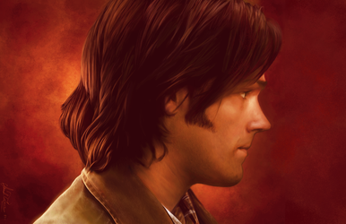 Sam Winchester by AmandaTolleson