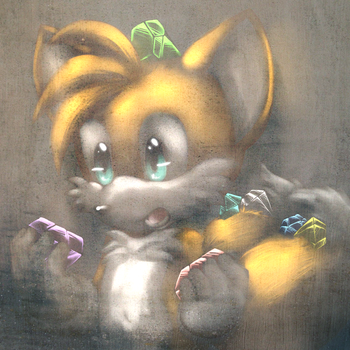 Tails RQ :gritty: by V1ciouzMizzAzn