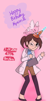 Happy Birthday Ky-nim~! by Yamikaisu