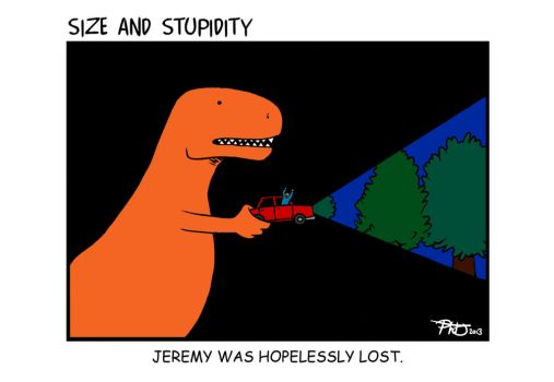 Jurassic Laugh 2: The Lost Jeremy by Size-And-Stupidity