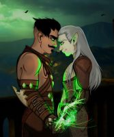 DragonAge Inquisition's Dorian Rift to my Heart by JasmineAlexandra