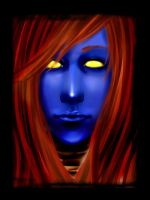 Mystique by Darkshirley
