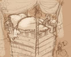 Princess and the pea by cleo8