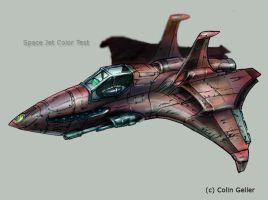 Space Jet Color by MeckanicalMind