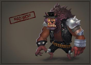 Deadracing Mad Wolf by VuBui91