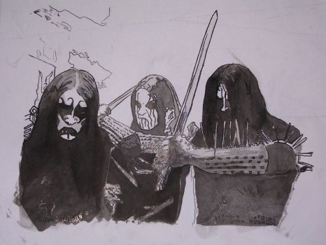 Gorgorothfans the official gorgoroth community deviantart ink drawing by gorgorothfans publicscrutiny Gallery