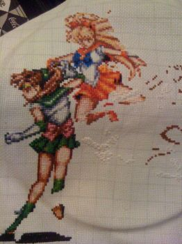 WiP - Sailor Scouts by Oolongo