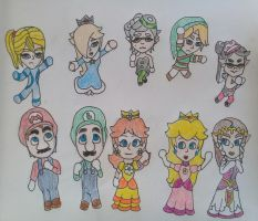 Miitopia - ending. by earthbouds