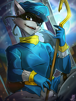 Sly Cooper by Zeitzbach