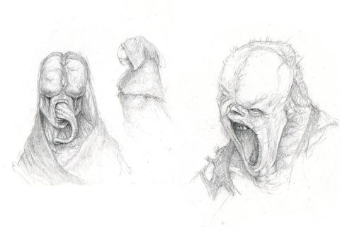 Monster Sketches by jd84