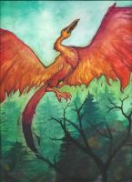 Pheonix by GalacticGraceArtwork