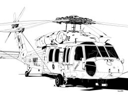 Sikorsky MH-60S Knighthawk by bowdenja