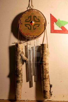 Four Directions Turtlewindchime